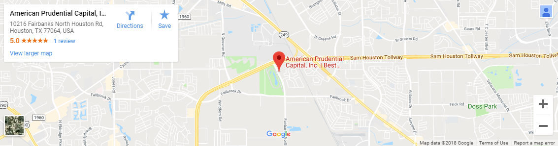 American Prudential Capital, Inc. Google Map | Request More Information
